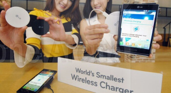 LG unveils world's smallest wireless charger