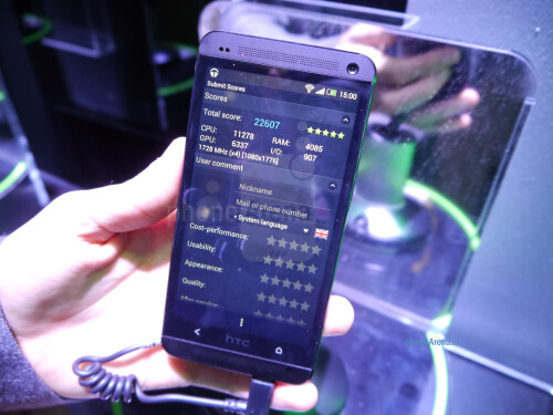 HTC One benchmarks