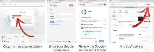 "Google+ Sign-In tries to beat Facebook Connect by avoiding ""social spam"""