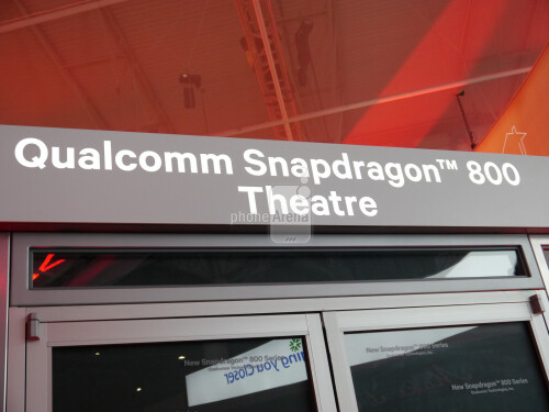Qualcomm had a whole theater where you can lounge in the La-Z-Boy and check out the Snapdragon 800 goods