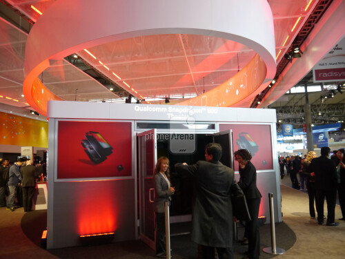 Booth-y call: see the MWC expo displays of Samsung, Nokia, LG, ZTE and Qualcomm