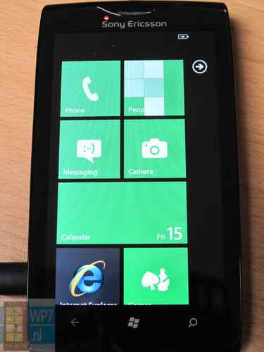 "Sony Ericcson Windows Phone ""Jolie"""