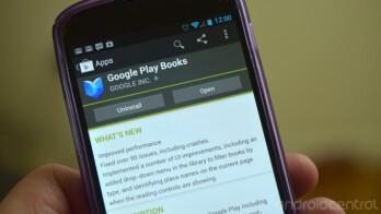 Google Play Books has an update