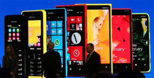 Nokia remains unique with its colorful designs