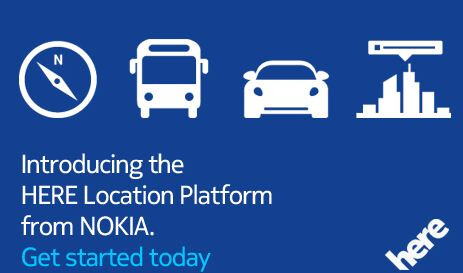 Nokia HERE keeps a strong focus on Maps
