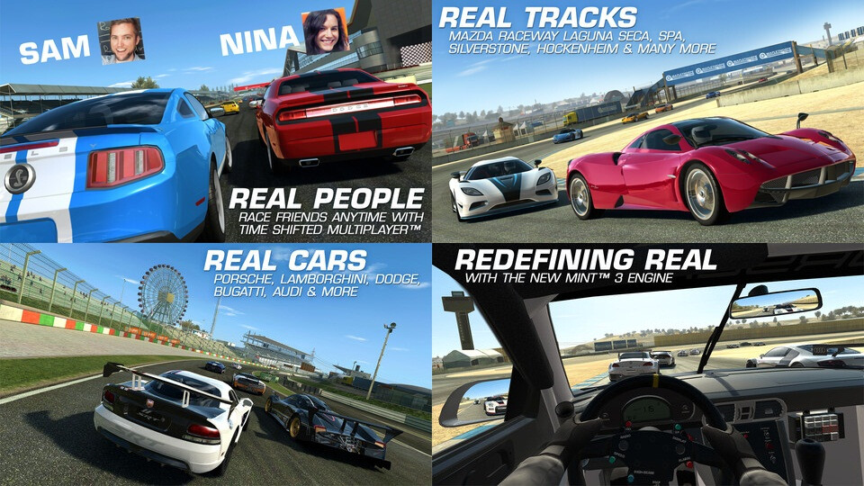 Real Racing 3 - Android, iOS - Free