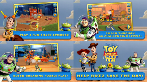 Toy Story: Smash It! - Android, iOS - $0.99