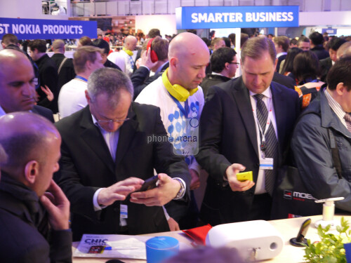 The Nokia booth at MWC 2013