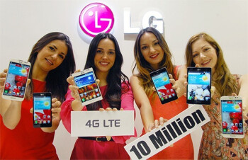 LG has sold 10 million smartphones with LTE support