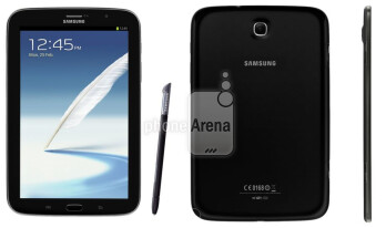 The Charcoal Black version of the Samsung Galaxy Note 8.0