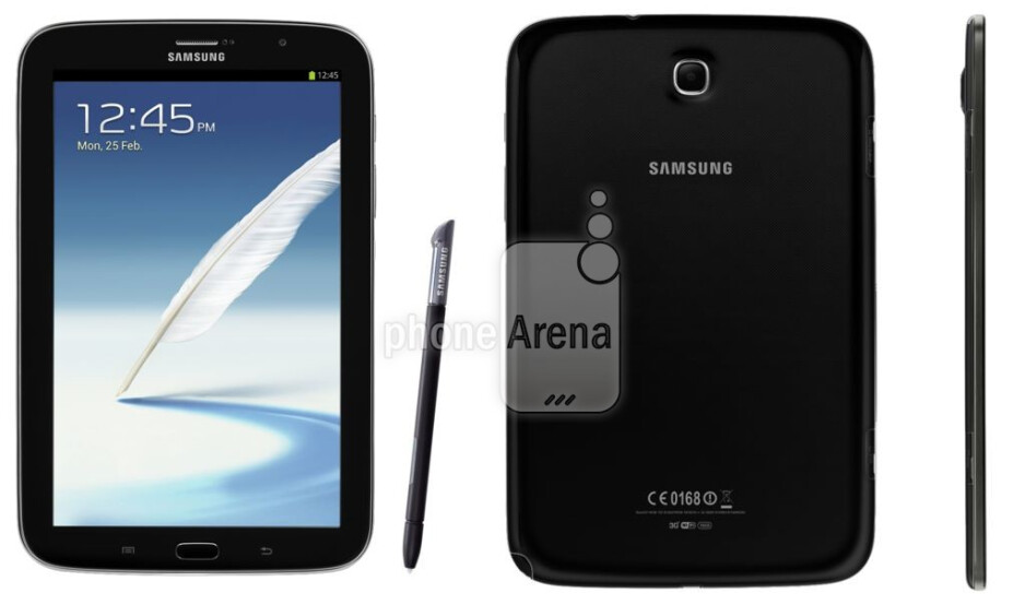 The Charcoal Black version of the Samsung Galaxy Note 8.0 - Leaked photo shows Charcoal Black Samsung Galaxy Note 8.0