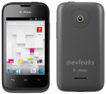 Image of forthcoming Android powered T-Mobile Prism II built by Huawei leaks
