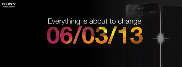 The Sony Xperia Z appears ready to launch this Wednesday in India - Sony Xperia Z to launch in India on March 6th?