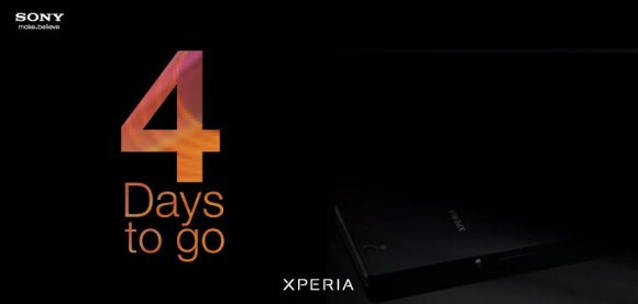 As of Saturday, there were 4 days left until the expected launch - Sony Xperia Z to launch in India on March 6th?