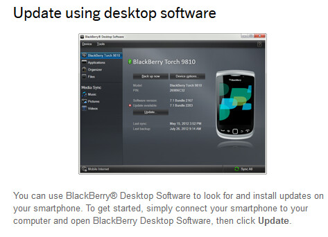 Using Desktop Software