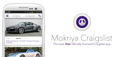 Mokriya Craigslist - Android, iOS - Free