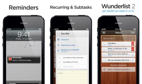 Wunderlist 2 - iOS - Free