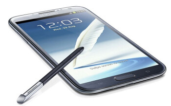 The Samsung GALAXY Note II already tracks the user's eyes using the front-facing camera