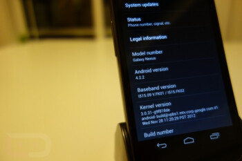 Updated Verizon Samsung GALAXY Nexus