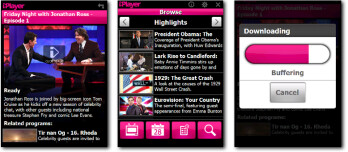 The BBC iPlayer app allows users to watch live BBC television or listen to live BBC radio