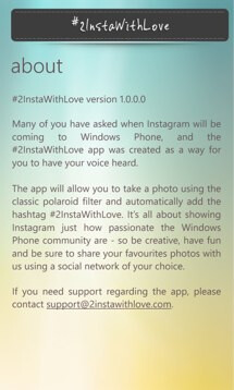 Nokia launches #2InstaWithLove app in effort to bring Instagram to Windows Phone