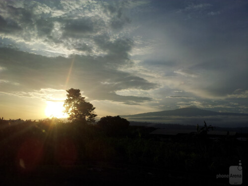 Noel Mor - Samsung Galaxy NoteSunset in Buea Cameroon