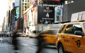 Samsung tells New York to 'Be Ready 4 The Next Galaxy' as Galaxy S 4 announcement nears