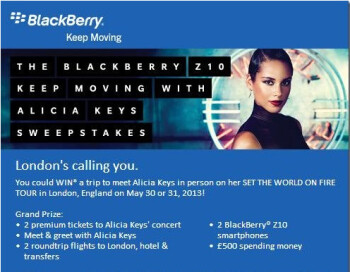 Win a chance to meet Alicia Keys with AT&T's contest