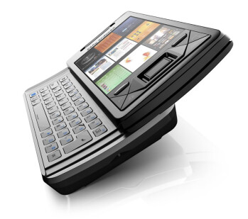 Remember the slide out QWERTY and the panels interface on the Sony Ericsson Xperia X1?