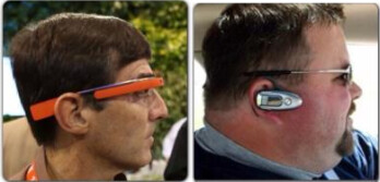 This is what Google Glass wearers will look like says The 5 Point Cafe