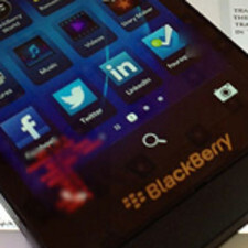 Not all BlackBerry Z10 units have been updated