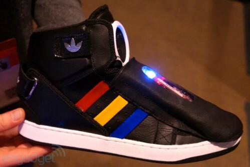 Google-ized sneakers