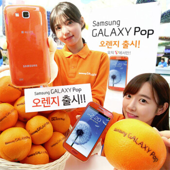 Orange you smart for wanting the Samsung Galaxy Pop?