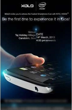 "XOLO to debut new Intel powered ""fastest smartphone ever"" on March 14th, in Goa, India"