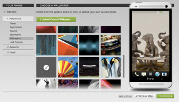 HTC Get Started lets you set up your HTC One from your PC