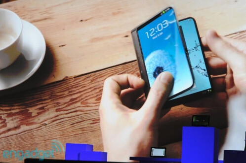 Curved or flexible screen