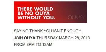OUYA to have a launch event in San Francisco on March 28th