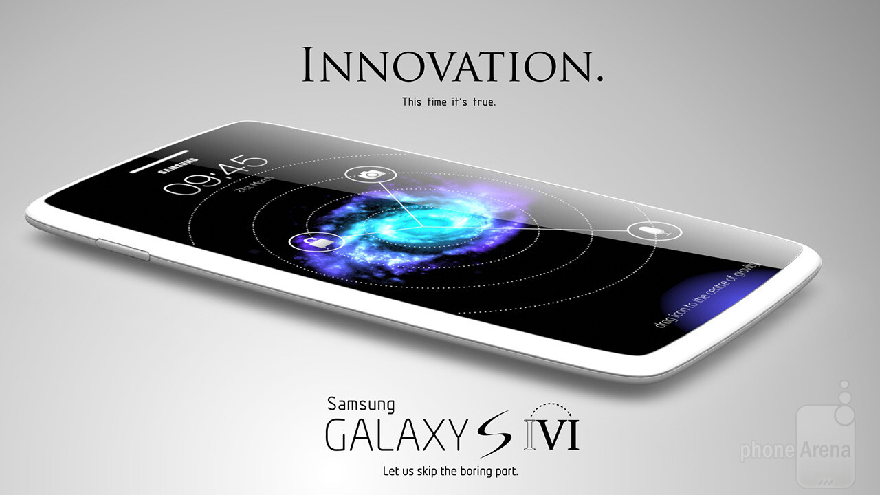 awesome galaxy s vi concept skips a generation to hint. Black Bedroom Furniture Sets. Home Design Ideas
