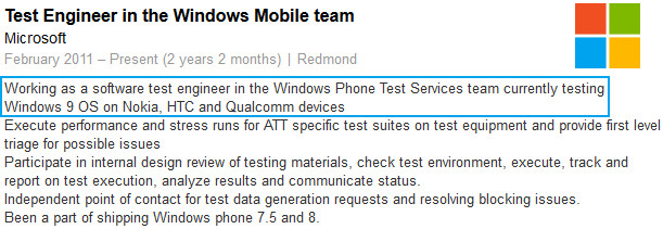 Microsoft prepping Windows Phone 9 with the help of Nokia, HTC and Qualcomm, no Samsung mentioned