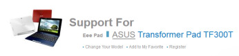 Update your ASUS Transformer Pad TF300 to Android 4.2.1 with a ROM offered by ASUS