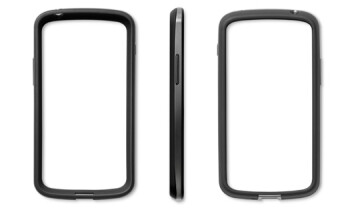 The black bumpers for the Google Nexus 4 will no longer be sold