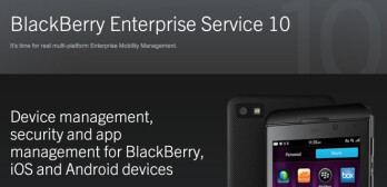 BlackBerry Secure Work Space is managed using BES 10