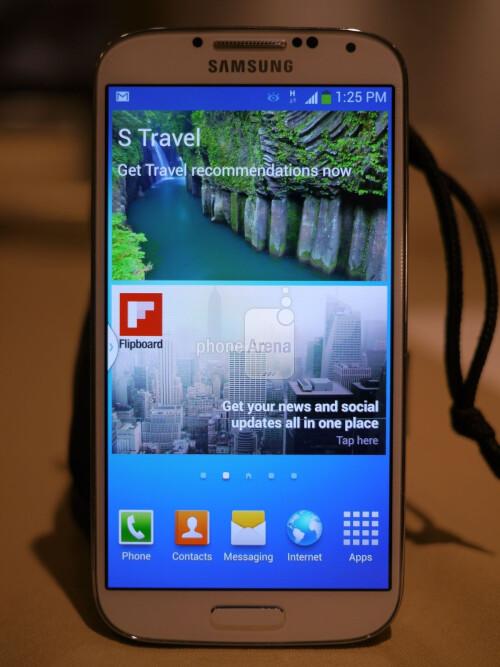 Samsung Galaxy S 4 interface