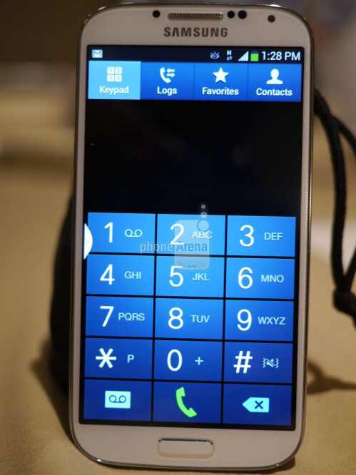 Samsung Galaxy S 4 interface