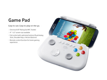 "Samsung's Game Pad accessory for the S4 hints a 6.3"" Galaxy Note III is indeed in the works"