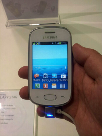 Samsung Galaxy Pocket Neo and Samsung Galaxy Star