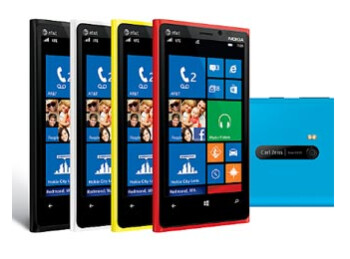 The Nokia Lumia 920 will be receiving an update