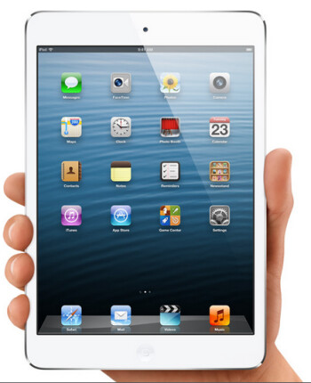 The sequel to the Apple iPad mini i