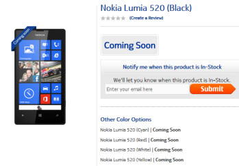 The Nokia Lumia 520 is coming soon to India
