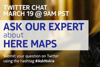 AskNokia debuts this Tuesday with an expert on HERE Maps